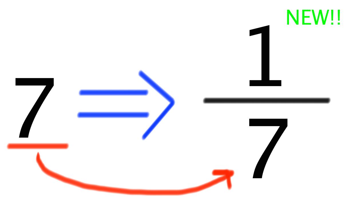 逆数の計算