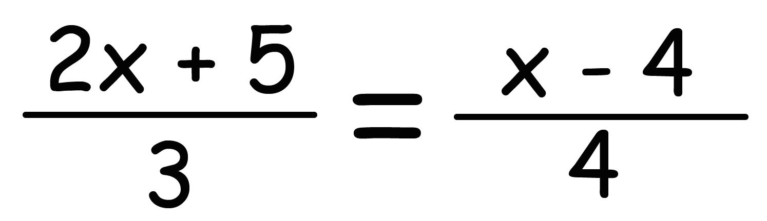 分数 方程式 解き方