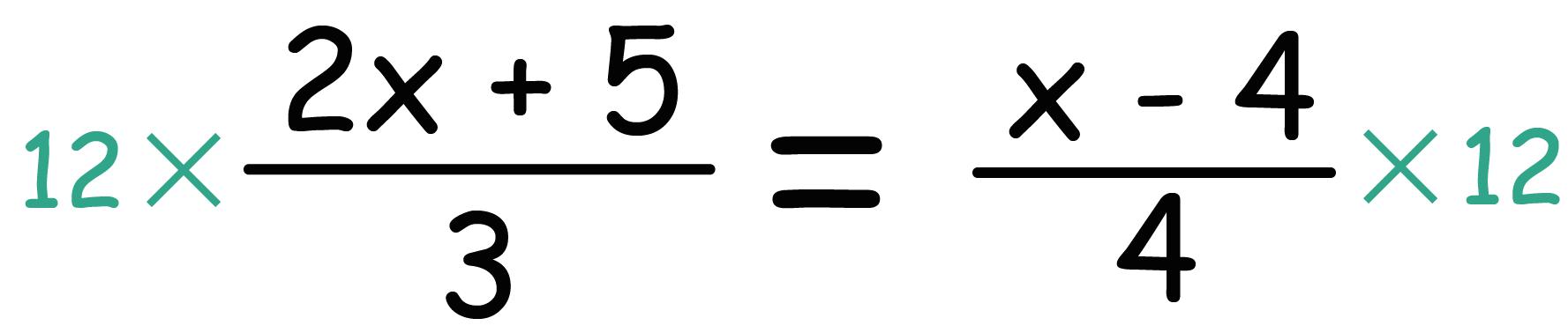 中1 数学 方程式