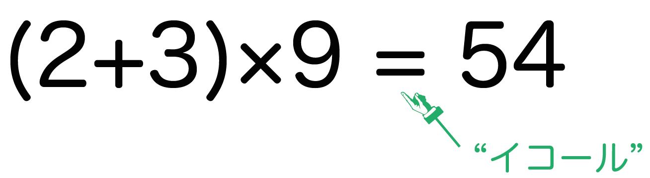 方程式とは 中1