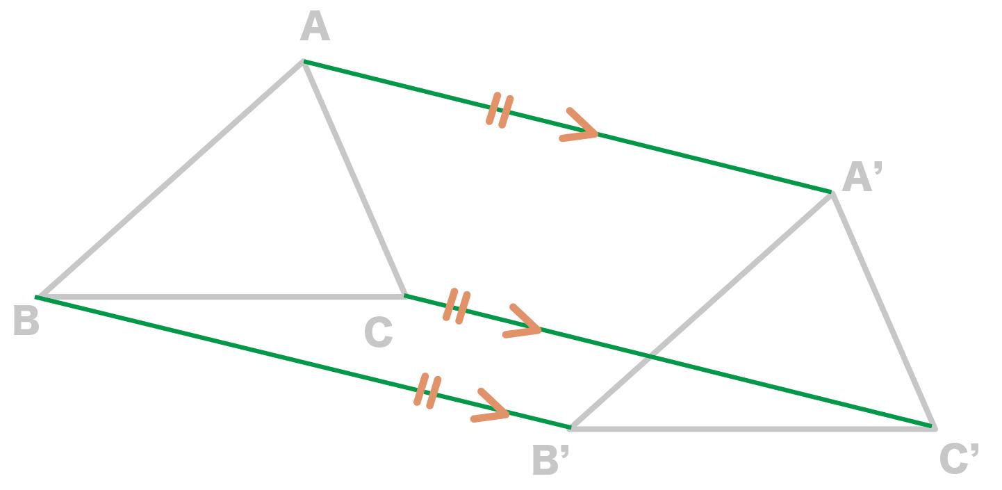 平行移動 作図 書き方