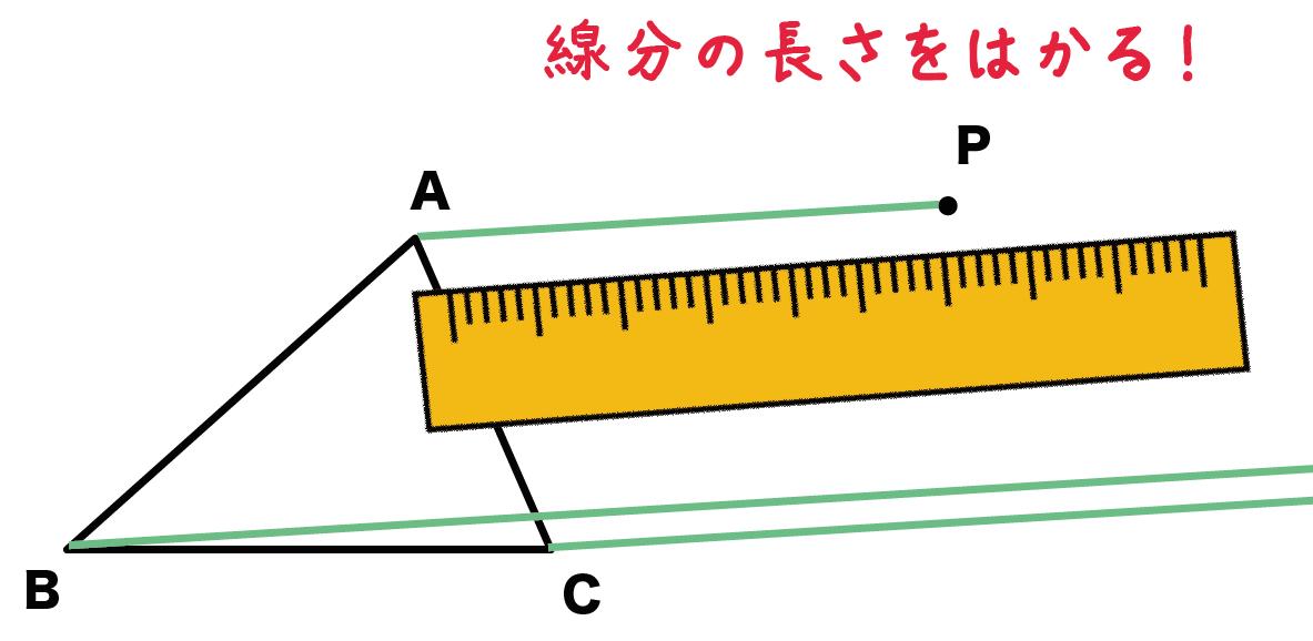 平行移動 作図