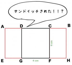 直方体 展開図 書き方