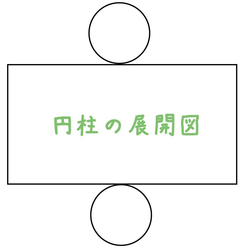円柱 票面積 求め方 公式