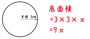円柱 表面積 求め方 公式