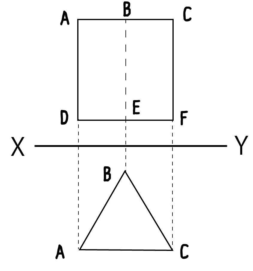 立面図 平面図 書き方