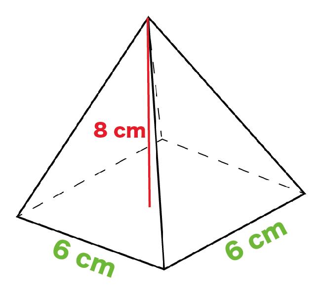 正四角錐 体積 求め方 公式