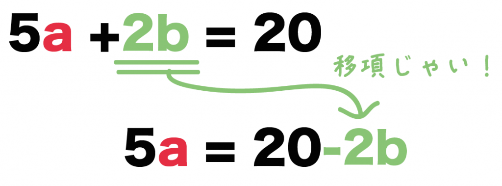 等式の変形 分数