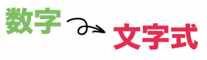 文字式の利用 解き方 問題