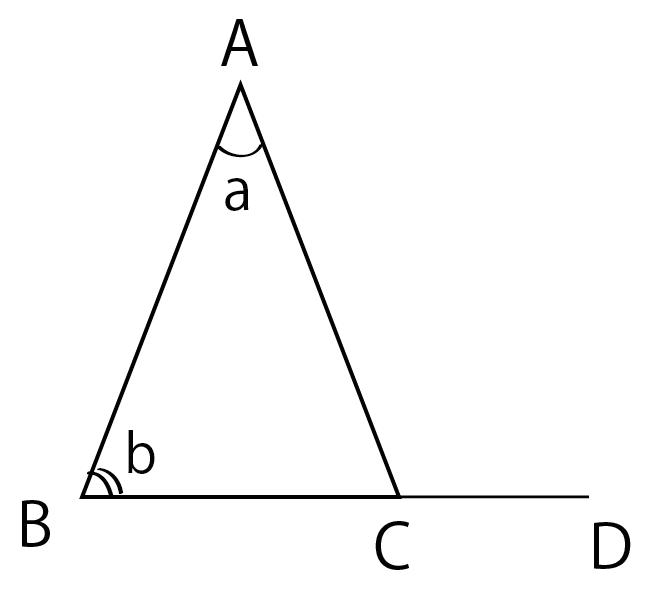 三角形の外角 定理