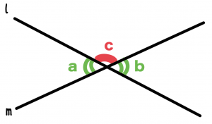 対頂角の性質 証明