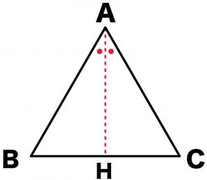 正三角形 高さ 求め方 公式