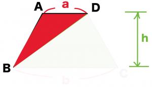 台形の面積の求め方 公式