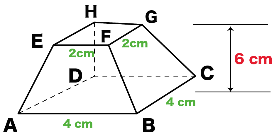 台形 体積 求め方 公式