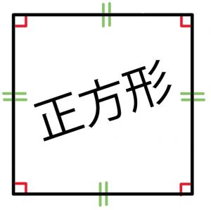 正方形 定義