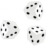 3つのサイコロ 確率