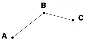 3点を通る円の中心 書き方 作図