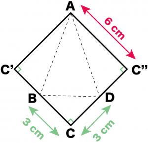 三角錐 表面積 求め方