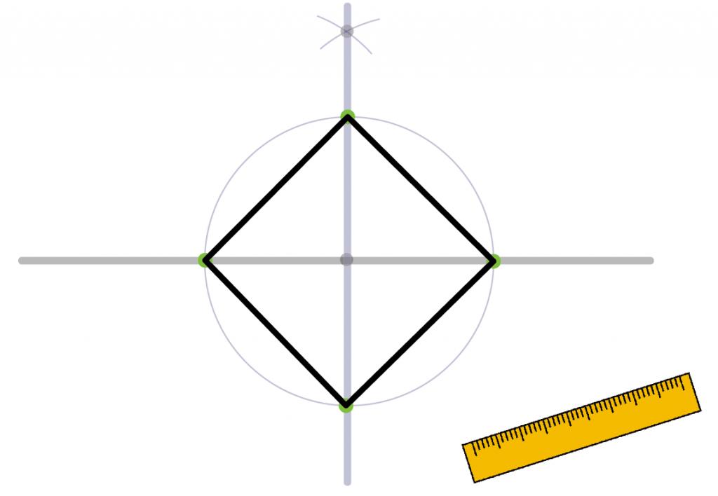 正方形の書き方 作図