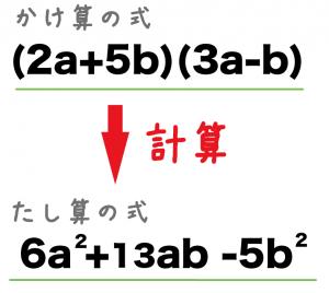 式の展開 中学数学