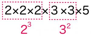 素因数分解 やり方 解き方