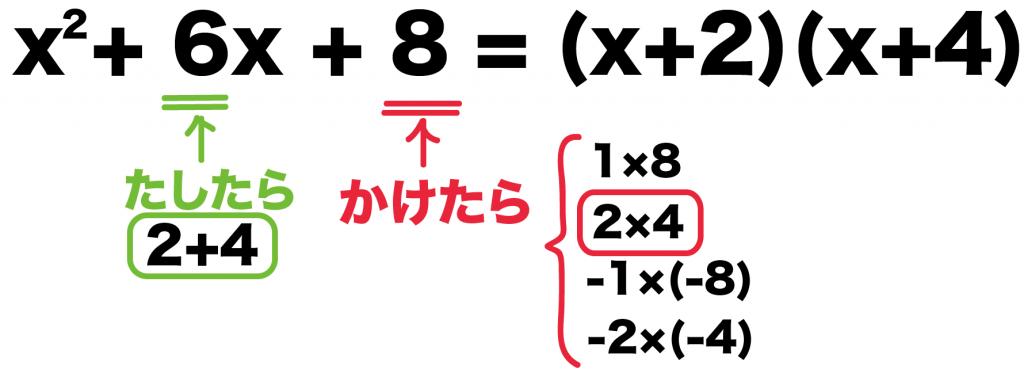 因数分解 公式