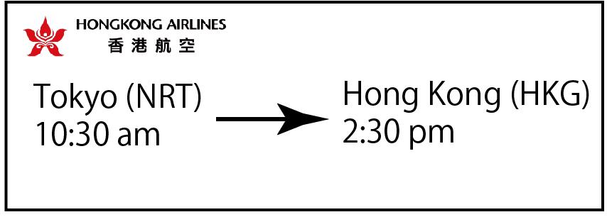 香港 日本 時差