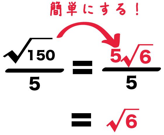 ルート 平方根 分数 割り算