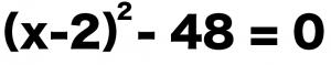 平方根 二次方程式