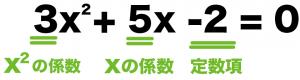 二次方程式 たすきがけ