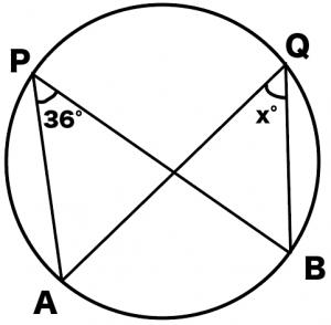 円周角の定理とは