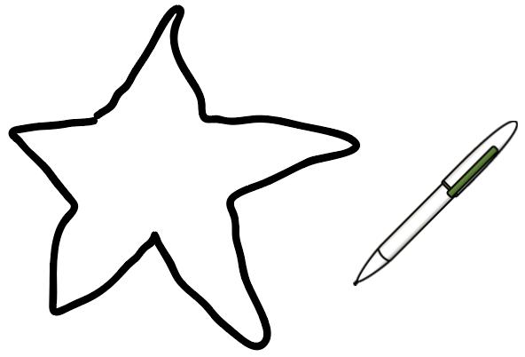 星形の角度の求め方