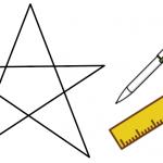 星形の角度の求め 方