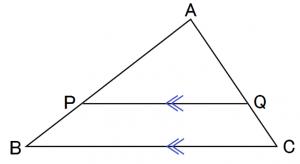 平行線と線分の比 証明