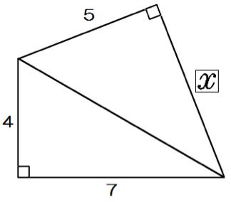直角三角形 三平方の定理