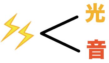 雷 距離 計算方法 求め方