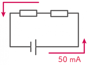 直列回路 電流 電圧 抵抗 求め方